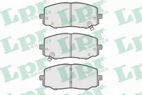 LPR 05P1633 - Piduriklotsi komplekt,ketaspidur multiparts.ee