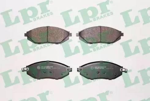 LPR 05P1629 - Piduriklotsi komplekt,ketaspidur multiparts.ee
