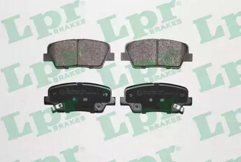 LPR 05P1625 - Piduriklotsi komplekt,ketaspidur multiparts.ee
