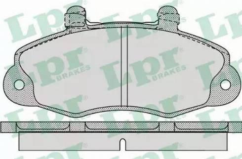 LPR 05P1059 - Piduriklotsi komplekt,ketaspidur multiparts.ee