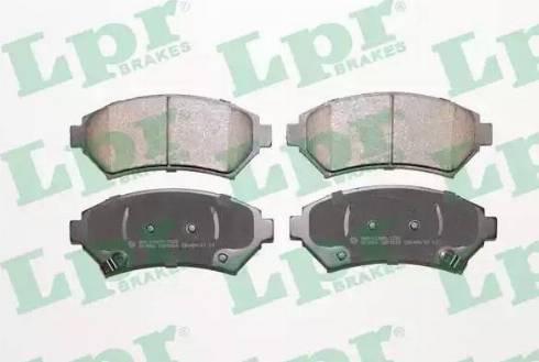 LPR 05P1054 - Piduriklotsi komplekt,ketaspidur multiparts.ee