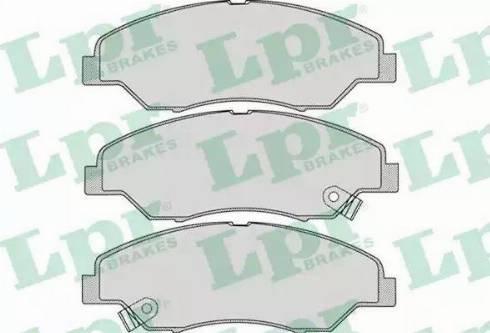 LPR 05P1053 - Piduriklotsi komplekt,ketaspidur multiparts.ee