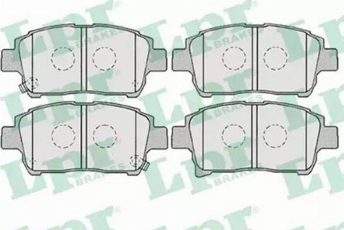 LPR 05P1003 - Piduriklotsi komplekt,ketaspidur multiparts.ee