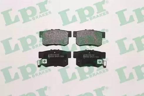 LPR 05P1014 - Piduriklotsi komplekt,ketaspidur multiparts.ee