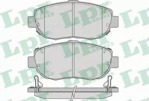 LPR 05P1033 - Piduriklotsi komplekt,ketaspidur multiparts.ee