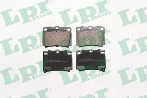 LPR 05P1029 - Piduriklotsi komplekt,ketaspidur multiparts.ee