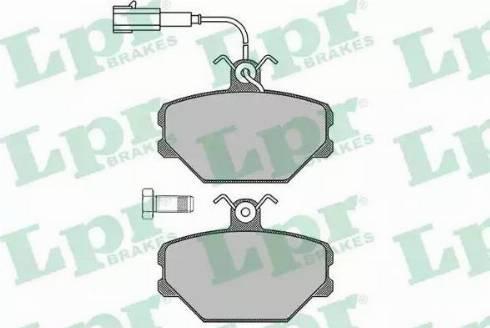 LPR 05P102 - Piduriklotsi komplekt,ketaspidur multiparts.ee