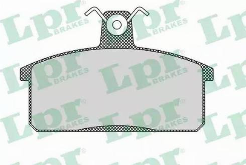 LPR 05P107 - Piduriklotsi komplekt,ketaspidur multiparts.ee