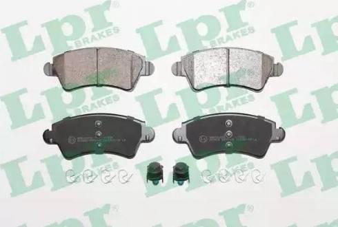 LPR 05P1105 - Piduriklotsi komplekt,ketaspidur multiparts.ee