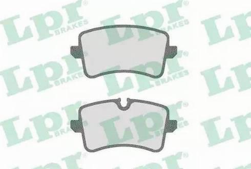 LPR 05P1826 - Piduriklotsi komplekt,ketaspidur multiparts.ee