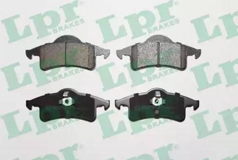 LPR 05P1354 - Piduriklotsi komplekt,ketaspidur multiparts.ee