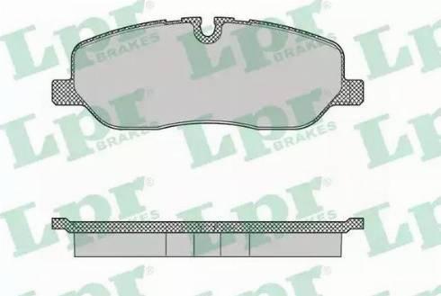 LPR 05P1360 - Piduriklotsi komplekt,ketaspidur multiparts.ee