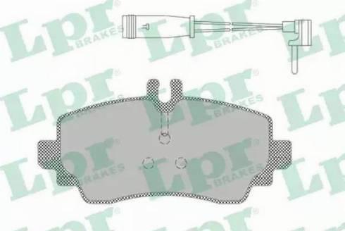 LPR 05P1387 - Piduriklotsi komplekt,ketaspidur multiparts.ee
