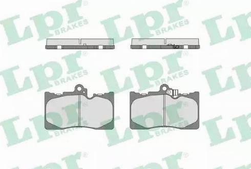 LPR 05P1331 - Piduriklotsi komplekt,ketaspidur multiparts.ee