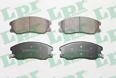 LPR 05P1322 - Piduriklotsi komplekt,ketaspidur multiparts.ee