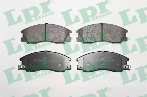 LPR 05P1291 - Piduriklotsi komplekt,ketaspidur multiparts.ee