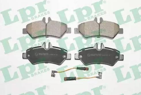 LPR 05P1293 - Piduriklotsi komplekt,ketaspidur multiparts.ee