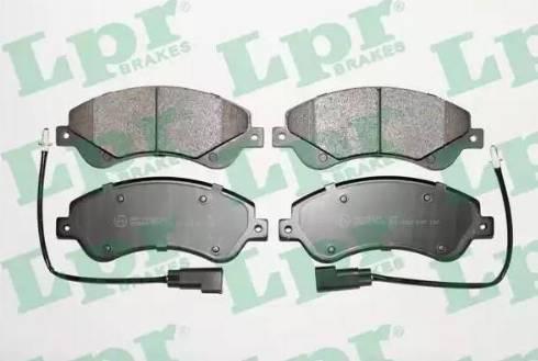 LPR 05P1259 - Piduriklotsi komplekt,ketaspidur multiparts.ee