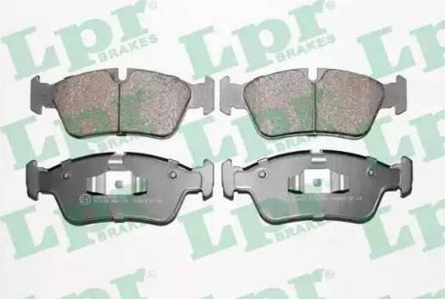 LPR 05P1250 - Piduriklotsi komplekt,ketaspidur multiparts.ee