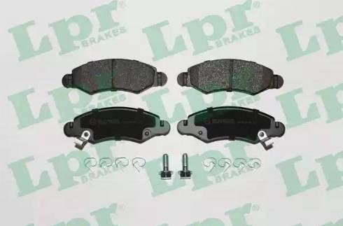 LPR 05P1280 - Piduriklotsi komplekt,ketaspidur multiparts.ee