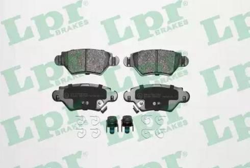 LPR 05P1227 - Piduriklotsi komplekt,ketaspidur multiparts.ee