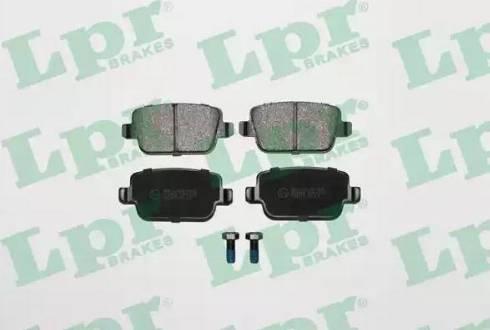 LPR 05P1272 - Piduriklotsi komplekt,ketaspidur multiparts.ee