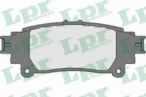 LPR 05P1746 - Piduriklotsi komplekt,ketaspidur multiparts.ee
