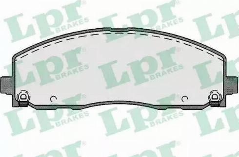 LPR 05P1759 - Piduriklotsi komplekt,ketaspidur multiparts.ee