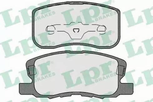 LPR 05P1733 - Piduriklotsi komplekt,ketaspidur multiparts.ee