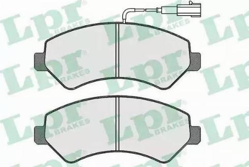 LPR 05P1721 - Piduriklotsi komplekt,ketaspidur multiparts.ee