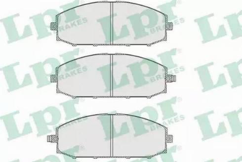LPR 05P845 - Piduriklotsi komplekt,ketaspidur multiparts.ee