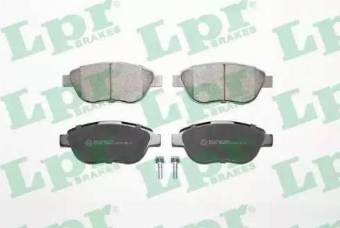 LPR 05P807 - Piduriklotsi komplekt,ketaspidur multiparts.ee