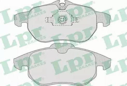 LPR 05P814 - Piduriklotsi komplekt,ketaspidur multiparts.ee