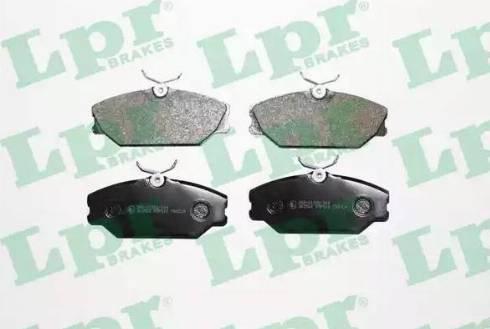 LPR 05P816 - Piduriklotsi komplekt,ketaspidur multiparts.ee