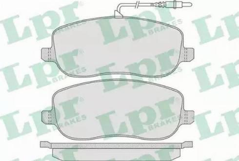 LPR 05P831 - Piduriklotsi komplekt,ketaspidur multiparts.ee