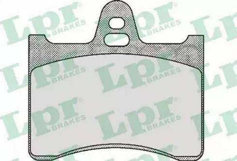 LPR 05P391 - Piduriklotsi komplekt,ketaspidur multiparts.ee