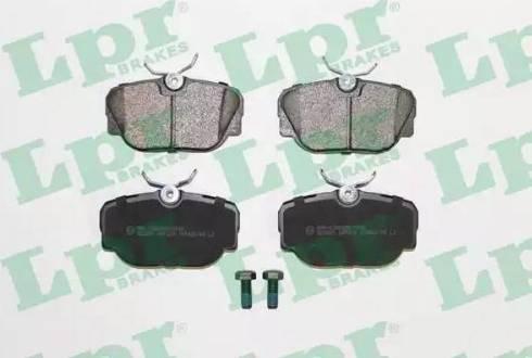 LPR 05P319 - Piduriklotsi komplekt,ketaspidur multiparts.ee