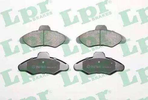 LPR 05P383 - Piduriklotsi komplekt,ketaspidur multiparts.ee