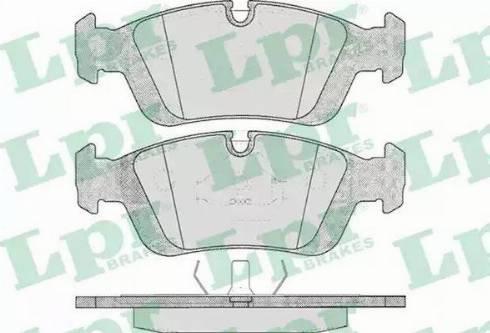LPR 05P331 - Piduriklotsi komplekt,ketaspidur multiparts.ee