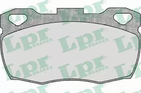 LPR 05P332 - Piduriklotsi komplekt,ketaspidur multiparts.ee
