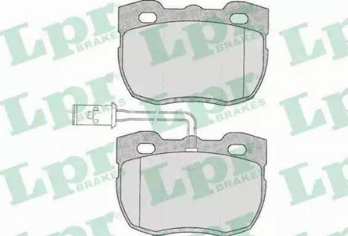 LPR 05P324 - Piduriklotsi komplekt,ketaspidur multiparts.ee