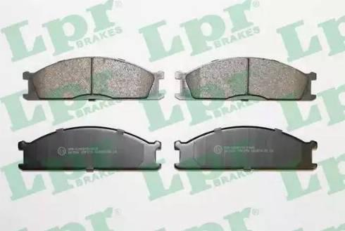 LPR 05P379 - Piduriklotsi komplekt,ketaspidur multiparts.ee