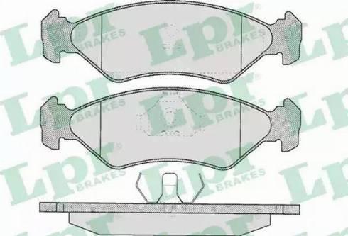 LPR 05P295 - Piduriklotsi komplekt,ketaspidur multiparts.ee
