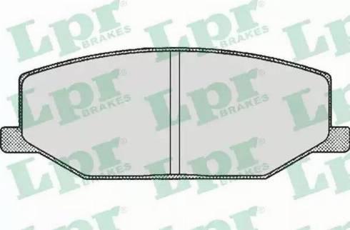 LPR 05P290 - Piduriklotsi komplekt,ketaspidur multiparts.ee