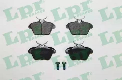 LPR 05P298 - Piduriklotsi komplekt,ketaspidur multiparts.ee