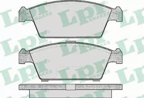 LPR 05P213 - Piduriklotsi komplekt,ketaspidur multiparts.ee