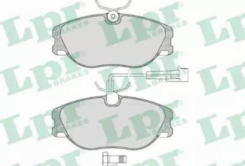 LPR 05P286 - Piduriklotsi komplekt,ketaspidur multiparts.ee