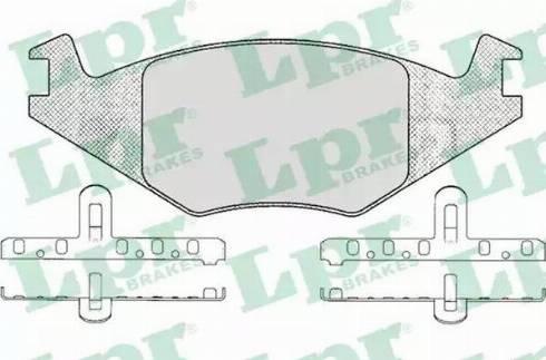 LPR 05P223 - Piduriklotsi komplekt,ketaspidur multiparts.ee