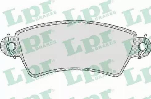 LPR 05P766 - Piduriklotsi komplekt,ketaspidur multiparts.ee