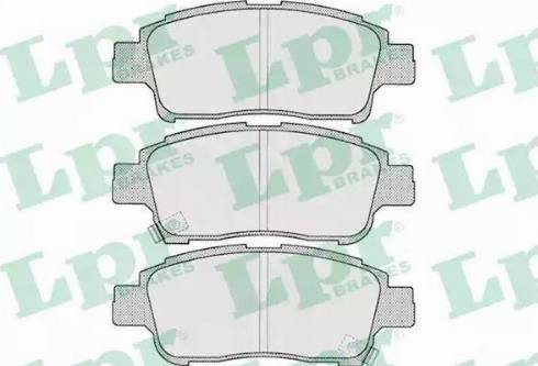 LPR 05P700 - Piduriklotsi komplekt,ketaspidur multiparts.ee